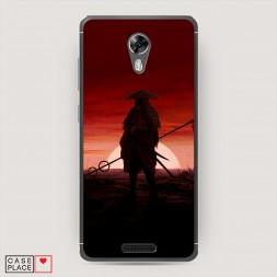 Силиконовый чехол Одинокий самурай на BQ 5201 Space