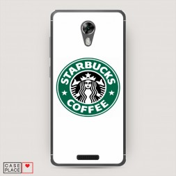 Cиликоновый чехол Starbucks coffee на BQ 5201 Space