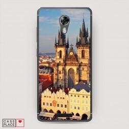 Cиликоновый чехол Прага готический собор на BQ 5201 Space