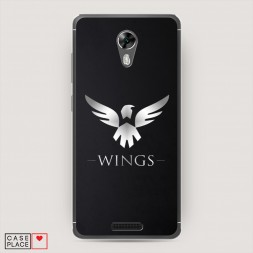 Cиликоновый чехол Wings dota2 на BQ 5201 Space