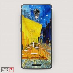Cиликоновый чехол Ван Гог Желтый дом на BQ 5201 Space