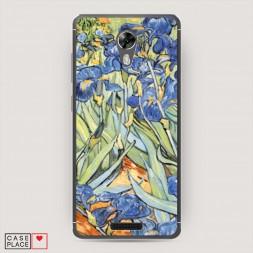Cиликоновый чехол Ирисы Ван Гог на BQ 5201 Space