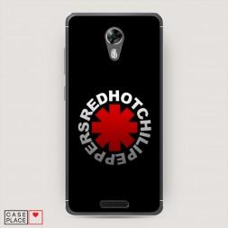 Cиликоновый чехол Ред Хот Чили Пеперс на BQ 5201 Space