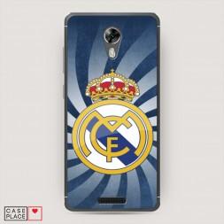 Cиликоновый чехол Реал Мадрид вихрь на BQ 5201 Space