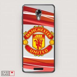 Cиликоновый чехол Manchester United на BQ 5201 Space