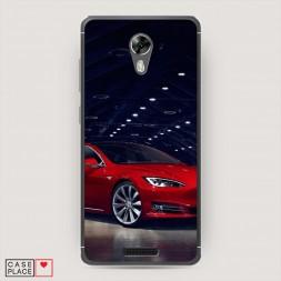 Cиликоновый чехол Tesla 4 на BQ 5201 Space