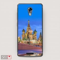 Cиликоновый чехол Москва 3 на BQ 5201 Space