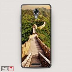 Cиликоновый чехол Великая китайская стена 1 на BQ 5201 Space