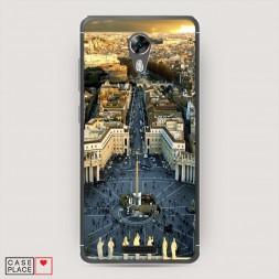 Cиликоновый чехол Ватикан 1 на BQ 5201 Space