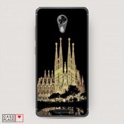 Cиликоновый чехол Храм святого семейства в Барселоне 2 на BQ 5201 Space