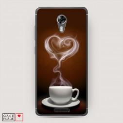 Cиликоновый чехол Кофейная любовь на BQ 5201 Space