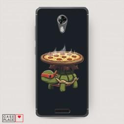 Cиликоновый чехол Пицца 7 на BQ 5201 Space