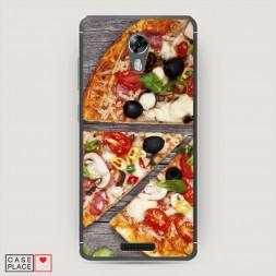 Cиликоновый чехол Пицца 17 на BQ 5201 Space