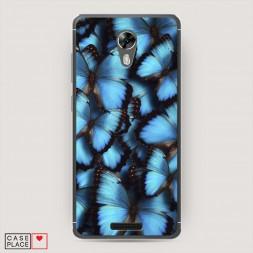 Cиликоновый чехол Тропическая бабочка 2 на BQ 5201 Space