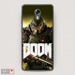 Силиконовый чехол Doom 3 на BQ 5201 Space