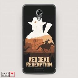 Cиликоновый чехол Red Dead Redemption 2 на BQ 5201 Space