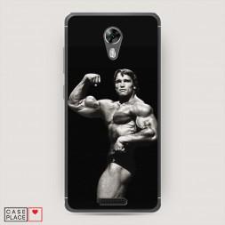 Cиликоновый чехол Schwarzenegger 1 на BQ 5201 Space