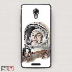Cиликоновый чехол Гагарин 2 на BQ 5201 Space