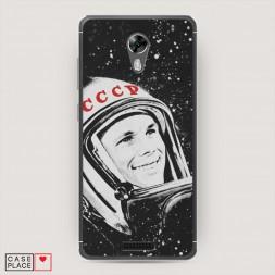 Cиликоновый чехол Гагарин 4 на BQ 5201 Space
