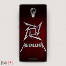 Cиликоновый чехол Metallica 2 на BQ 5201 Space