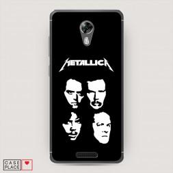 Cиликоновый чехол Metallica 5 на BQ 5201 Space