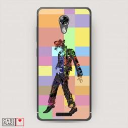 Cиликоновый чехол Michael Jackson 1 на BQ 5201 Space