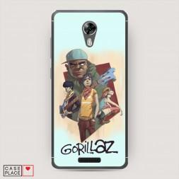 Cиликоновый чехол Gorillaz 1 на BQ 5201 Space