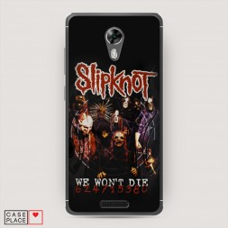 Cиликоновый чехол Slipknot 1 на BQ 5201 Space