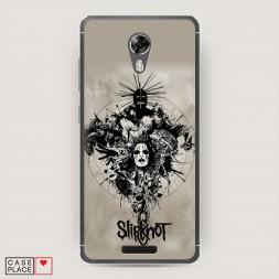 Cиликоновый чехол Slipknot 3 на BQ 5201 Space