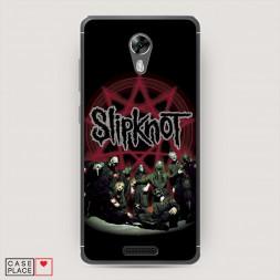 Cиликоновый чехол Slipknot 4 на BQ 5201 Space