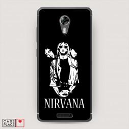Cиликоновый чехол Nirvana 3 на BQ 5201 Space