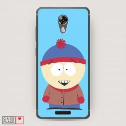 Cиликоновый чехол South Park 1 на BQ 5201 Space