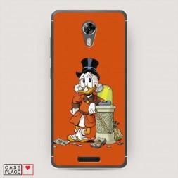 Cиликоновый чехол Duck tales 4 на BQ 5201 Space