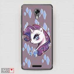 Cиликоновый чехол My little pony 3 на BQ 5201 Space