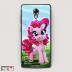 Cиликоновый чехол My little pony 4 на BQ 5201 Space