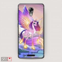 Cиликоновый чехол My little pony 6 на BQ 5201 Space