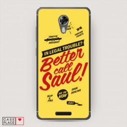 Cиликоновый чехол Better Call Saul 4 на BQ 5201 Space