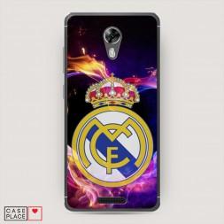 Cиликоновый чехол Real Madrid 2 на BQ 5201 Space