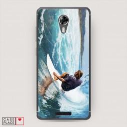 Cиликоновый чехол Хобби серфинг 1 на BQ 5201 Space