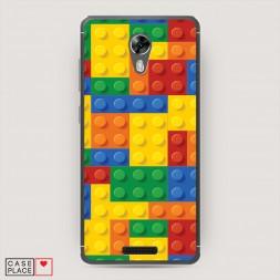 Cиликоновый чехол Лего на BQ 5201 Space