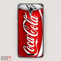 Cиликоновый чехол Кока Кола на BQ 5201 Space