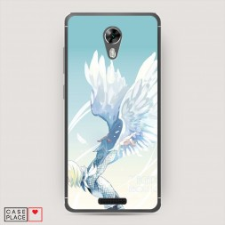 Cиликоновый чехол Юрий Плисецкий ангел на BQ 5201 Space