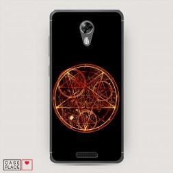 Cиликоновый чехол Doom pentagram на BQ 5201 Space