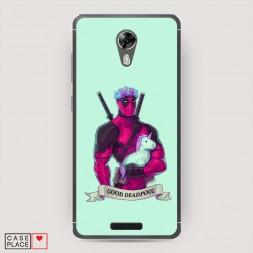 Cиликоновый чехол Good Deadpool на BQ 5201 Space