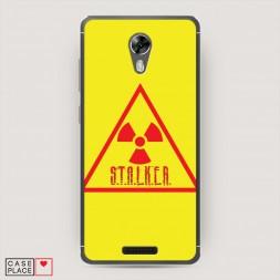 Cиликоновый чехол Stalker треугольник на BQ 5201 Space