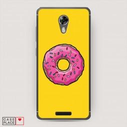 Cиликоновый чехол Пончик для Гомера на BQ 5201 Space