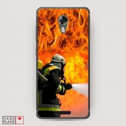 Cиликоновый чехол Пожарные на страже на BQ 5201 Space