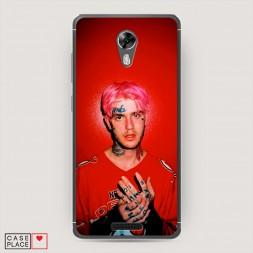 Силиконовый чехол Lil Peep фото на BQ 5201 Space