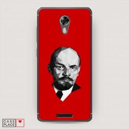 Силиконовый чехол Ленин lowpoly на BQ 5201 Space
