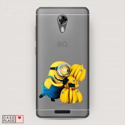 Силиконовый чехол Банановый краш на BQ 5201 Space